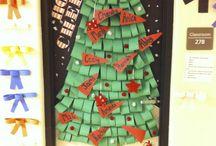 Preschool classroom door decoration/boards