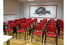 Salas de Reuniones, Formación y eventos en Madrid / Nuestras fantásticas salas para reuniones, formaciones y eventos en Madrid