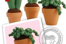 piante grasse amigurumi