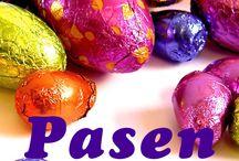 Pasen / Tijd voor gezelligheid, paaseieren, chocola en fun!