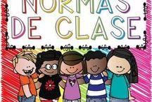 Libro  normas de clase y consecuencias