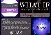 Don't just live....THRIVE!!! / https://teamshuster.le-vel.com/