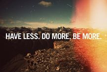 ° Less Is More / How we consume LESS for a MORE lasting pleasurable society