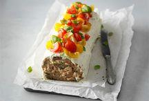 Taikan rippijuhlat / Tarjoilut ja reseptit rippijuhlaa varten.