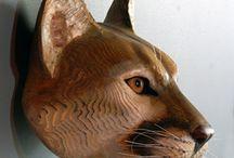 Patung Kayu binatang