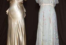 Suknie XX wiek 1930-1949