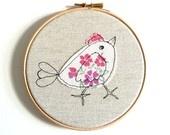 embroidery hoop love