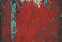 Red abstracts