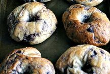 Bagels, muffins and scones