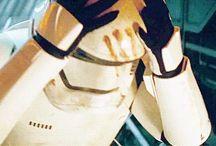 Finn-Star Wars / play by:John Boyega