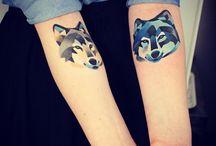 Tattoos ( aquarela )