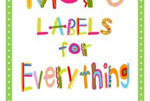 Labels & Printables / by Abby Shane