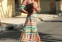 longueur d 'avance / Long dresses or skirts