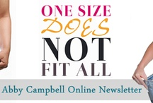 Abby Campbell Newsletters / Weight Loss Expert and Author Abby Campbell Newsletters.