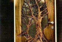 desain kayu