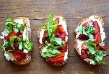 Healthy vegetarian snacks