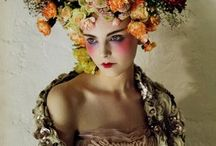INSPIRATION/floral head dress