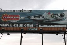 Billboard / Our Billboard on Hwy 41!