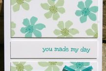 A Dozen Thoughts Card Ideas / by Laurie Graham: Avon Rep/Stampin' Up! Demo