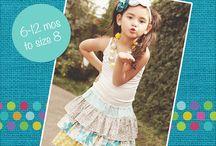 Girls Skirts PDF Sewing Patterns