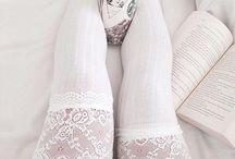 Lace High socks