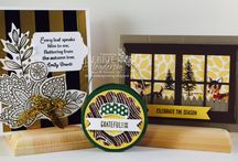 Stampin' Up! 2015 Autumn/Winter / Ideas and inspiration using products from the Stampin' Up! 2015 Autumn/Winter Catalogue