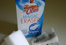 Cleaning-Magic erasers