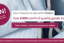 Win with Hilden - November 2013 / Here at Hilden we love a good freebie and we're sure you do too! That's why we have decided to launch a bumper competition that will be taking part throughout the whole month of November. This is a competition not to be missed as throughout the month we will be adding new luxury linen items to a bundle.