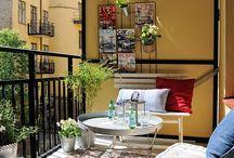 Terasz, balkon, kert