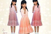 the sims 4 dress children