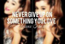 Ariana grande insirasjon