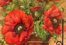 Kwiaty, owoce...i ornamenty