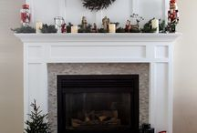 Fireplace makeovers / by Christie Clerc