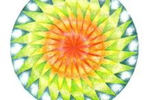 Geometric Form Art: Islamic and Roman and Roman Mosaic / Ideas for geometric form art for 12 year olds with a focus on Islamic and Roman art