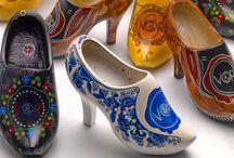 Houten schoenen