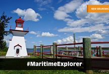 Maritime Explorers / Become a #MaritimeExplorer today! Your mission: discover Nova Scotia, Canada's ocean playground, relax on the gentle shores of PEI, and explore the natural wonders of New Brunswick. Share your experiences with the hashtag #MaritimeExplorer and let us know how you like to explore the Maritime Provinces!