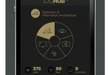 Mobile Navigation Designs