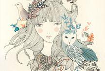 Miss Desidia / Ilustración