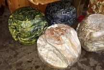 bolas de raíz de teca / bolas pintadas de raíz de teca de Indonesia. producto ecológico  Diseño, producción y fabricación exclusiva y ecológica por www.comprarenbali.com