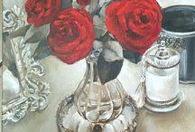 Terry Stephens Horn - Paintings