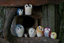 Owls Decor / Stuff