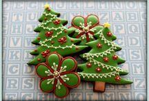 Christmas cookies / Вкусняшки к нг
