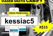 CABIFY GRÁTIS 15 REAIS