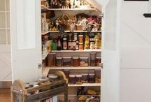 Ideas for new pantry / by Natalie Chellew Belcher