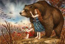Story Book Illustrations /  Children's illustrations that I love.