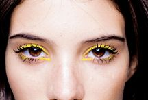 Yellow make up