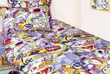Boy's Bedding / Bedroom theme ideas for a boy's bedroom.