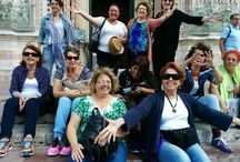 Workshop for artists at Villa La Mucchia in Tuscany
