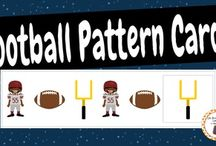 Sports Theme / Sport theme activities, ideas and printables for your preschool or kindergarten unit curriculum.  Explore football, soccer, volleyball, tennis, swimming and more!