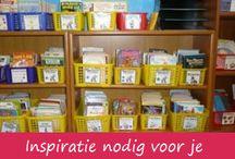 Peuterbibliotheek en Verteltassen